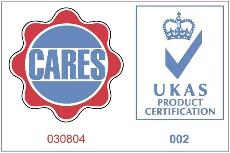 UK CARES Produkt Certification